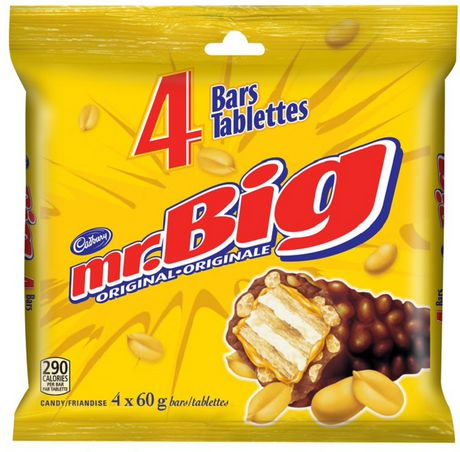 Cadbury Mr.Big Original Candy Bars - image 1 of 2
