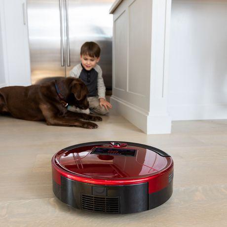 Bobsweep Pethair Robotic Vacuum Cleaner And Mop Walmart