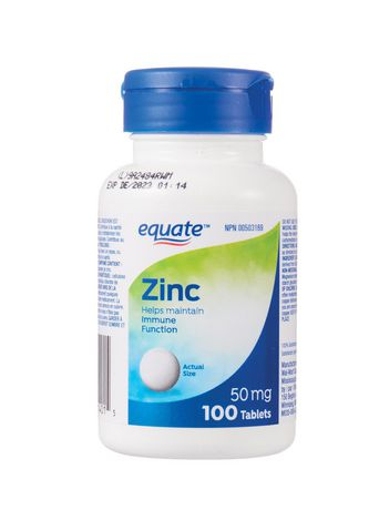 Equate Zinc Tablets - image 1 of 1