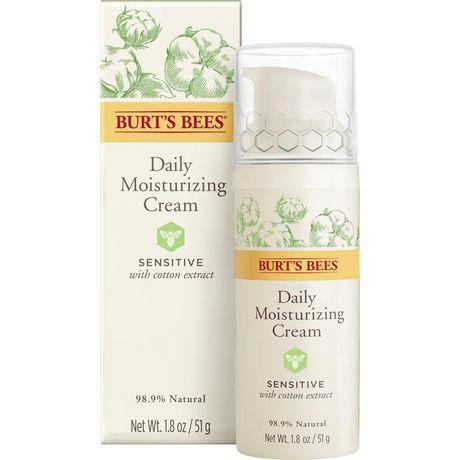 Burt's Bees Sensitive Daily Moisturizing Cream, 50g - image 1 of 9