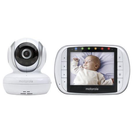 motorola mbp33xl 3 5 video baby monitor walmart canada. Black Bedroom Furniture Sets. Home Design Ideas