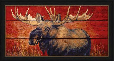 Peinture murale Canadiana Art Contemplation par Penny Wagner - image 1 de 1
