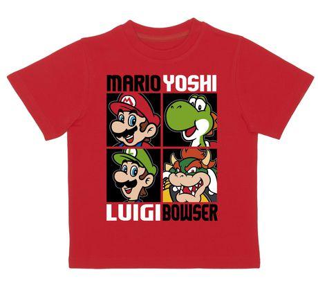Super Mario T-shirt à manches courtes pour garçon - image 1 de 1