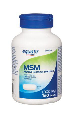 Equate MSM 1000 mg