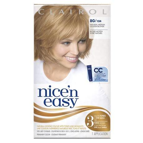 Clairol Nice N Easy Born Blonde Hair Results Dark Brown