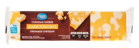 Great Value Marble Cheddar Cheese - image 1 of 3