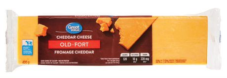 Great Value Old Cheddar Cheese - image 1 of 3