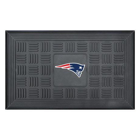 Tapis d'entrée des Patriots de la Nouvelle-Angleterre de la NFL par FanMats de 19 x 31 po - image 1 de 1