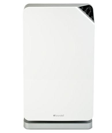 Brondell Purificateur d'air O2+ Balance avec technologies certifiées « True HEPA » et au charbon activé granulaire, blanc - image 1 de 7