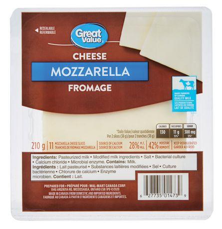 Great Value Mozzarella Cheese - image 1 of 1