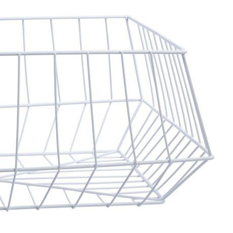 Truu Design, Paniers de rangement trapézoïdal en fer, ensemble de 2 - image 5 de 5
