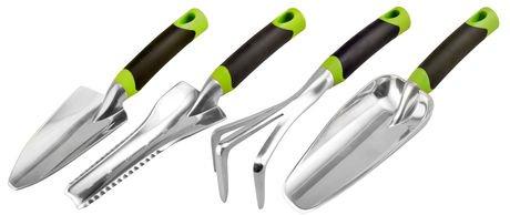 Radius garden 4 piece dig tool set walmart canada for Gardening tools walmart