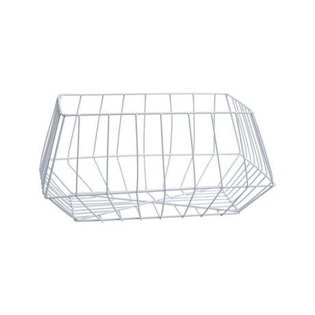 Truu Design, Paniers de rangement trapézoïdal en fer, ensemble de 2 - image 3 de 5