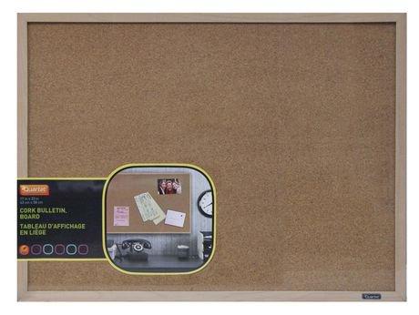 Quartet Natural Cork Bulletin Board With Maple Frame Walmart Canada