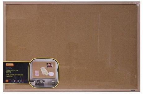tableau d affichage quartet en li ge naturel avec cadre en rable walmart canada. Black Bedroom Furniture Sets. Home Design Ideas