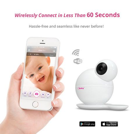 ibaby m6s 1080p full hd wi fi smart digital baby monitor. Black Bedroom Furniture Sets. Home Design Ideas