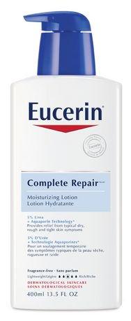 Eucerin Fragrance Free Complete Repair Moisturizing Lotion