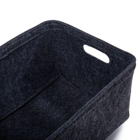 Truu Design, Felt Storage Baskets, Set of 3 - image 2 of 4