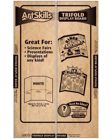 artskills large trifold display board walmart canada