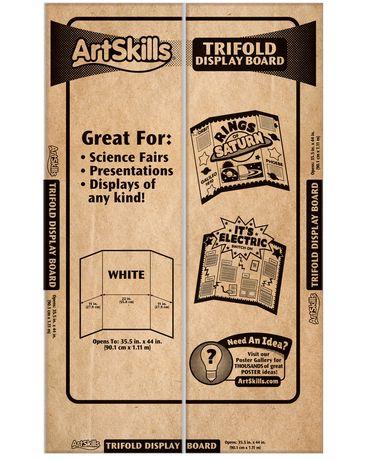 ArtSkills Large Tri Fold Display Board Walmart Canada. Tri Fold Display  Board Design Ideas