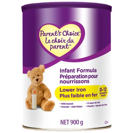 Parent's Choice Milk Based Lower Iron Infant Formula - image 1 of 1