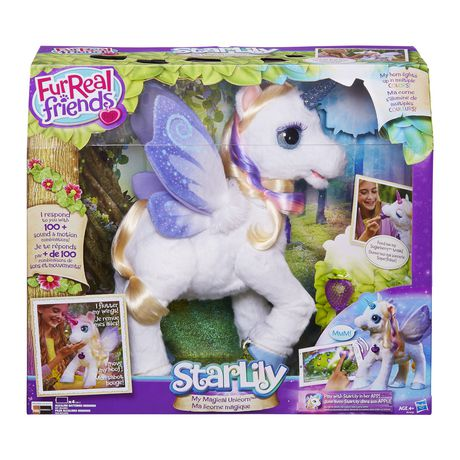 Fur Real Friends Fantasy Collection Starlily, My Magical Unicorn Pet by Fur Real Friends