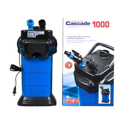 penn-plax penn plax cascade 1000 canister filter | walmart canada