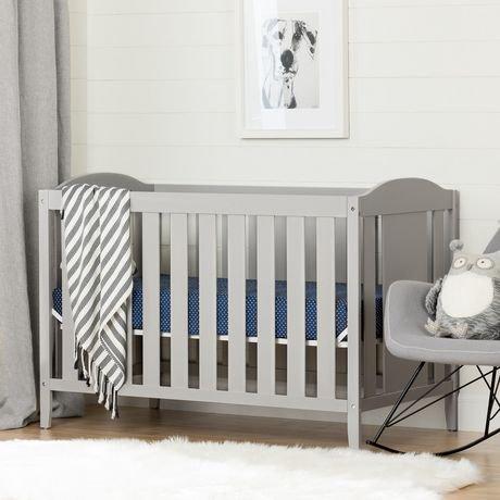 South Shore Angel Crib With Toddler Rail Walmart Canada