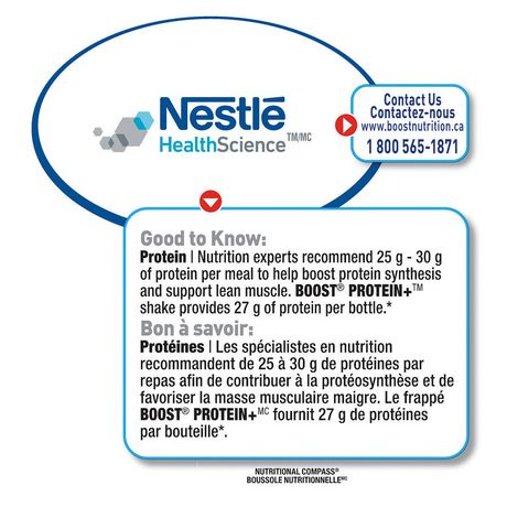BOOST® Protein+™ Chocolate Meal Replacement Shake - image 6 of 7