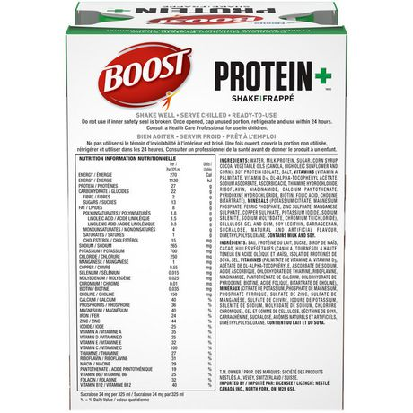 BOOST® Protein+™ Chocolate Meal Replacement Shake - image 5 of 7