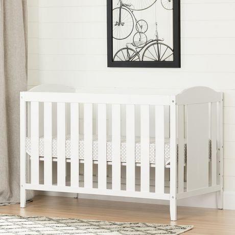 lit de b b avec barri re de transition et matelas angel de meubles south shore walmart canada. Black Bedroom Furniture Sets. Home Design Ideas