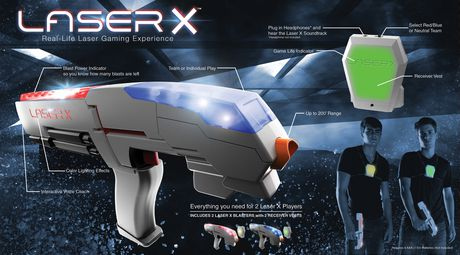 LASER X 2 Player Blasters - image 2 of 5