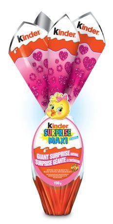 Ferrero Kinder Surprise Maxi Pink - image 1 of 2