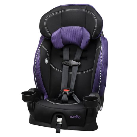 EvenfloR Chase LX Harnessed Booster Car Seat