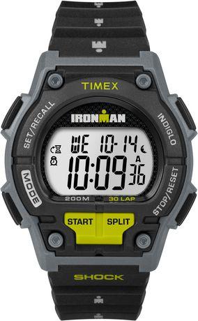 vente chaude en ligne cf94b 4746c Montre Timex® Ironman Shock Numérique Grandeur Standard