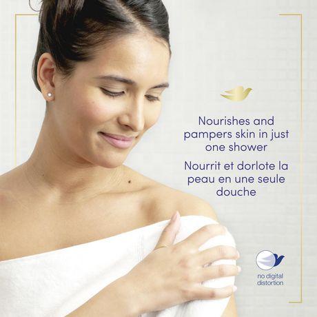 Dove Shea Butter & Warm Vanilla Body Wash - image 4 of 9