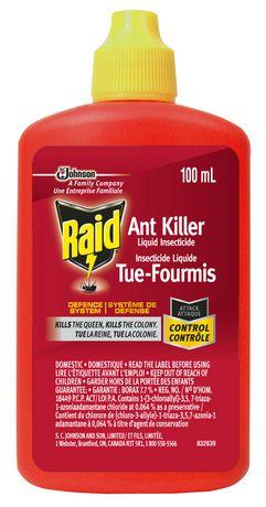 Insecticide liquide Tue-Fourmis de Raid - image 1 de 1