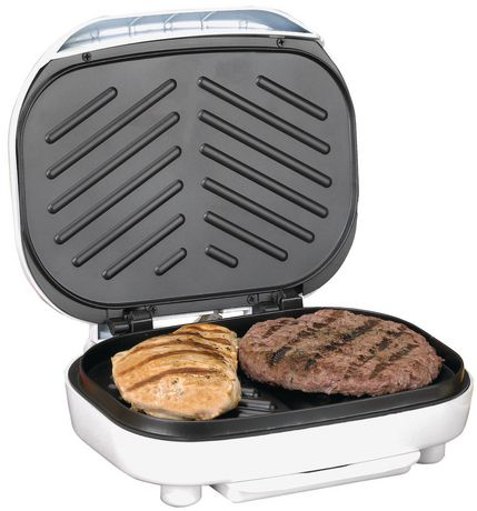 Brentwood Indoor Contact Grill with 2-Slice Capacity - TS605 - image 3 of 7
