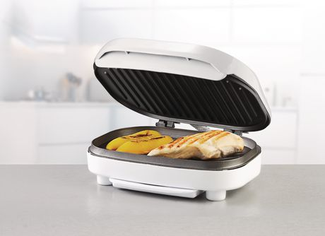 Brentwood Indoor Contact Grill with 2-Slice Capacity - TS605 - image 2 of 7