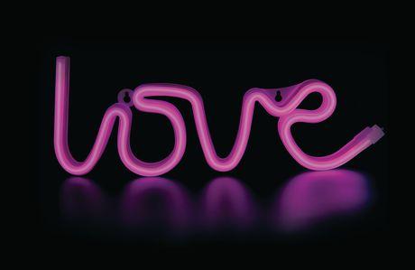 Applique murale amour néon à led de brilliant ideas binl345