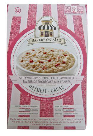 Bakery On Main Strawberry Shortcake Flavoured Oatmeal - image 1 of 2