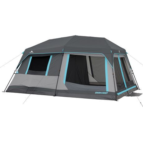 Ozark Trail 10 Person Half Dark Rest Instant Cabin Tent