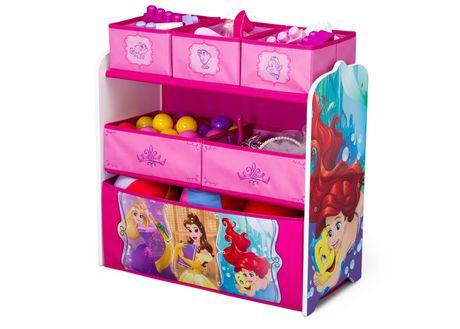 Disney Princess Multi Bin Toy Organizer Walmart Canada