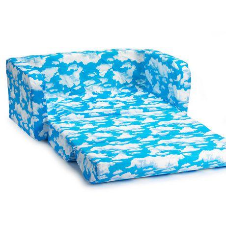 comfy kids flip sofa. Black Bedroom Furniture Sets. Home Design Ideas