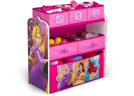 Disney Princess Multi-Bin Toy Organizer - image 3 of 3