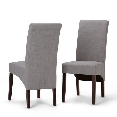 Wyndenhall franklin 2 pack deluxe parson dining chair for Affordable furniture franklin la