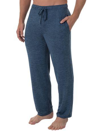 Fruit of the Loom's Beyond Soft Sleep Pants - Blue - image 2 of 4