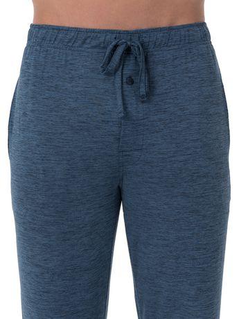 Fruit of the Loom's Beyond Soft Sleep Pants - Blue - image 3 of 4
