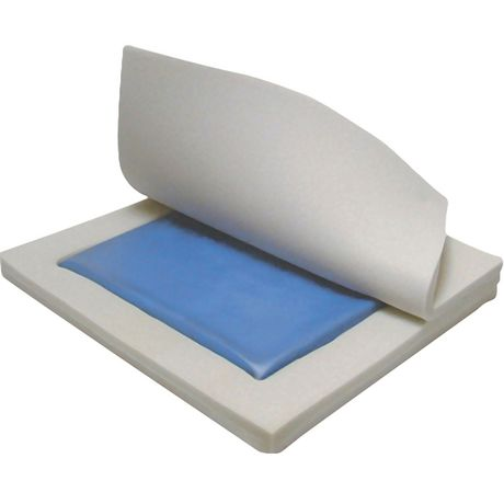 """Drive Medical Gel """"E"""" Skin Protection Wheelchair Seat Cushion - image 4 of 5"""