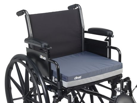 """Drive Medical Gel """"E"""" Skin Protection Wheelchair Seat Cushion - image 5 of 5"""